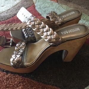 Michael Kors Shoes - Platform ankle wrap sandals
